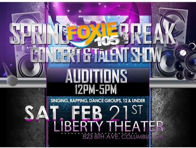 Spring Break Concert and Talent Show Tryouts