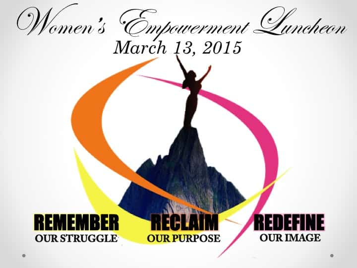 Women's Empowerment Luncheon 2015 - SAVE THE DATE