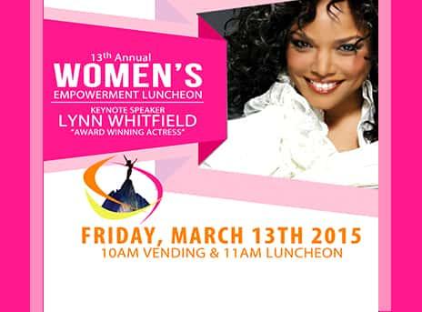 Women's Empowerment Luncheon 2015
