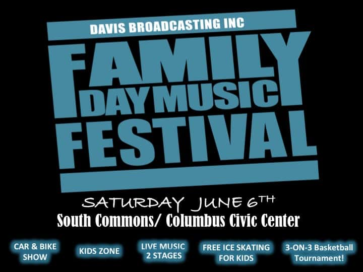 FAMILY DAY MUSIC FESTIVAL - JUNE 6TH