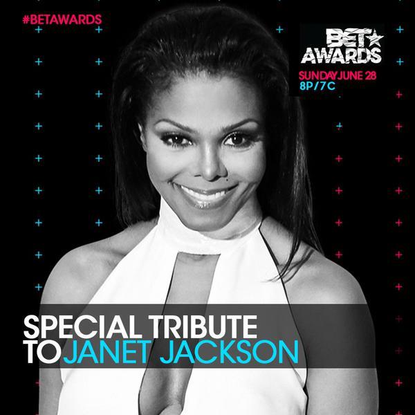 BET Awards to Honor Janet Jackson