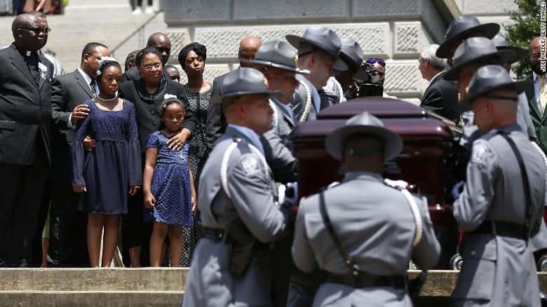 Obama Delivers Eulogy at Charleston Church