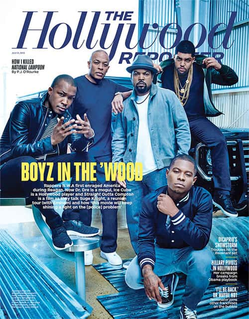 BOYS IN THE 'WOOD: Dr. Dre, Ice Cube & 'Straight Outta Compton' Cast Talk Suge Knight, Eazy-E & Why This Film Matters