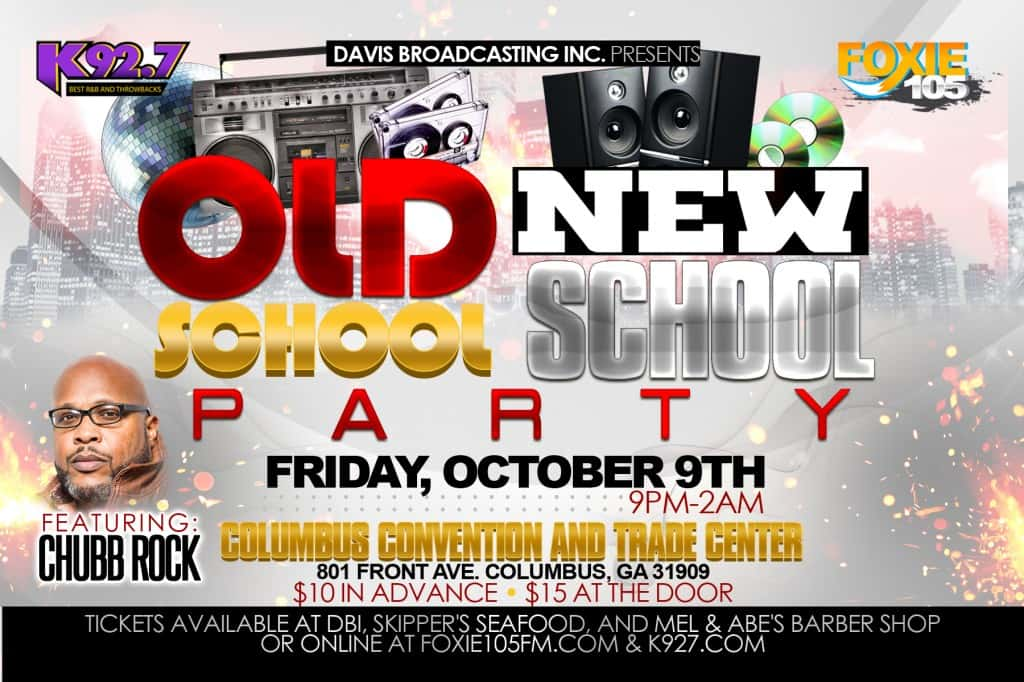 OLD SCHOOL vs. NEW SCHOOL PARTY WITH CHUBB ROCK!