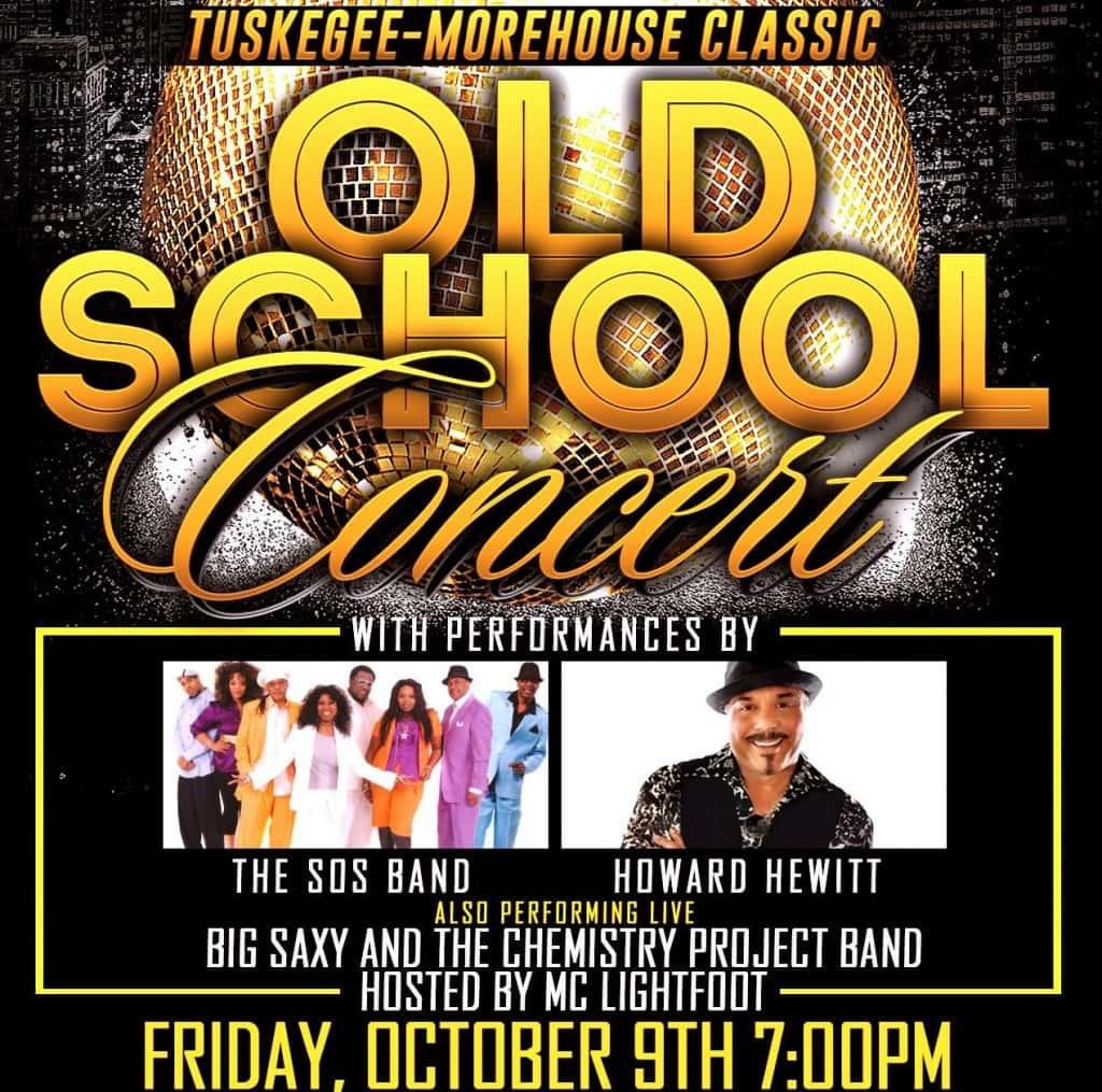 Concert - Old School Concert with SOS and Howard Hewitt