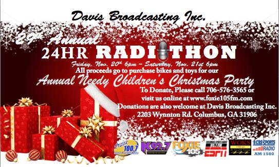 Radiothon 2015 - DONATE NOW!