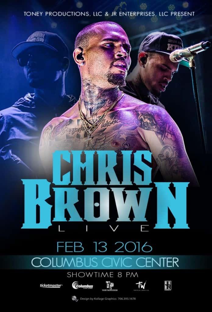 Chris Brown-February 13, 2016