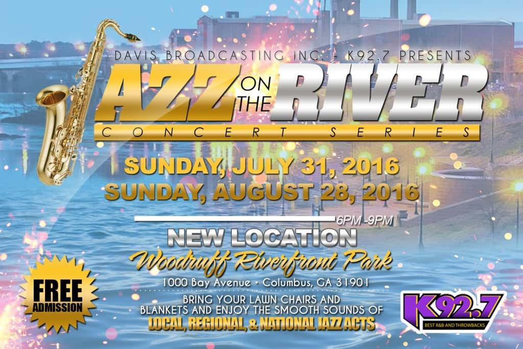 Jazz on the River - July 31st- Woodruff Park