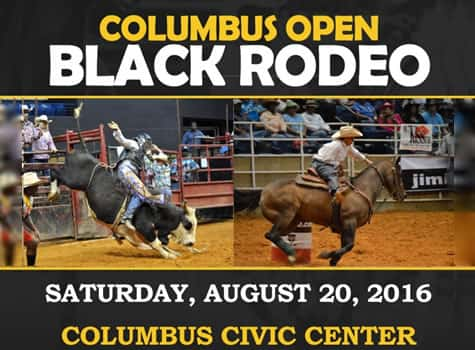 SOUTHEASTERN BLACK RODEO AUG 20 COLUMBUS CIVIC CENTER