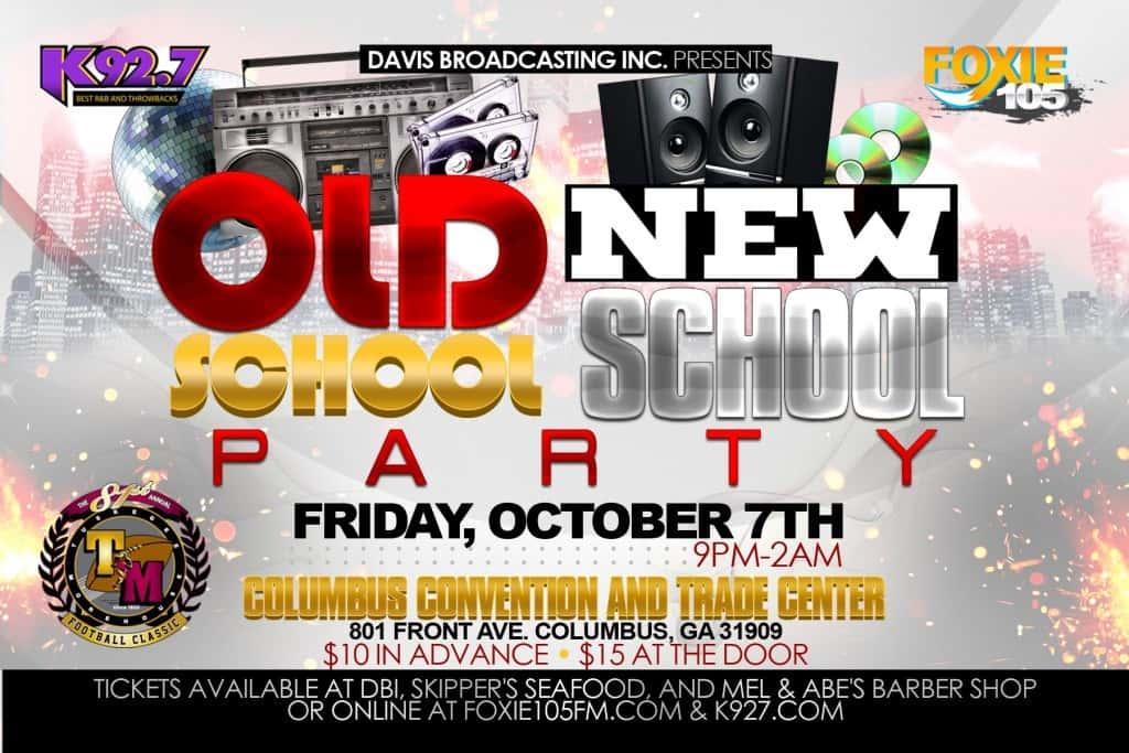 Old School New School Party Fri Oct 7th