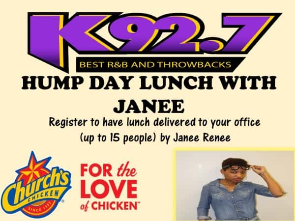 K92 Lunch With Janee
