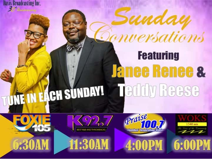 NEW!! Sunday Conversations w/ Janee Renee and Teddy Reese!