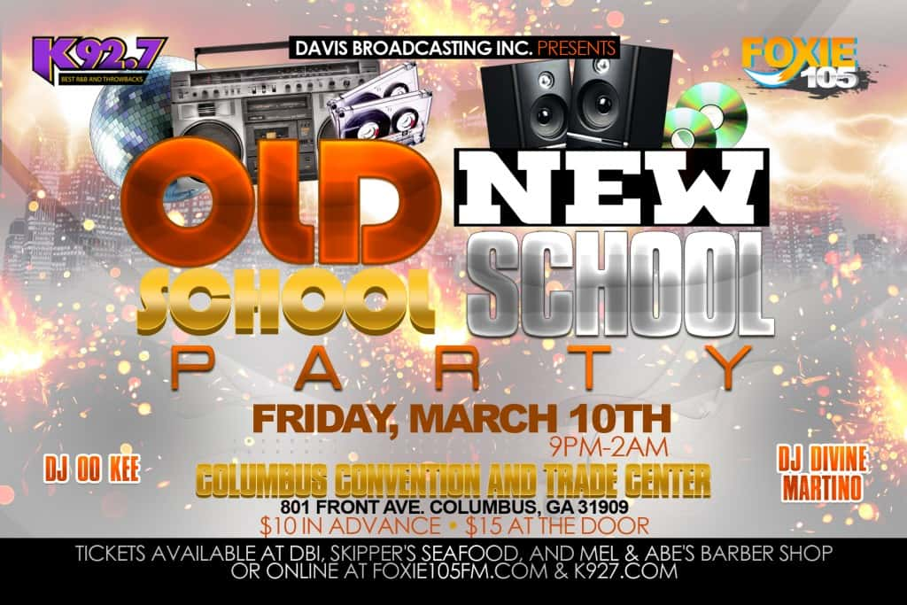 Old School vs New School Party!