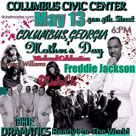 Mothers Day Weekend Celebration Concert Starring Freddie Jackson