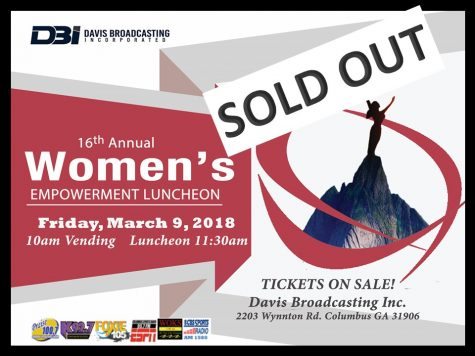 Womens Empowerment Luncheon-March 9, 2018