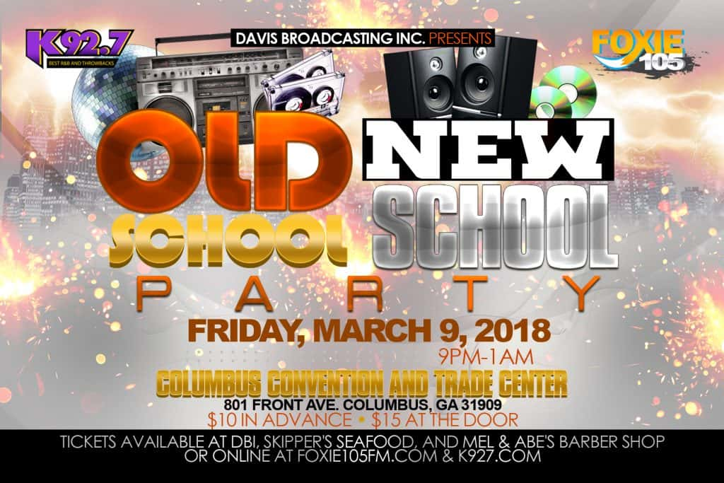 OLD SCHOOL NEW SCHOOL PARTY-MARCH 9 2018