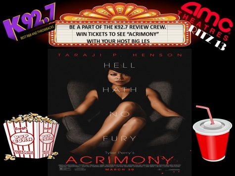 "Win Tickets to see ""Acrimony"""