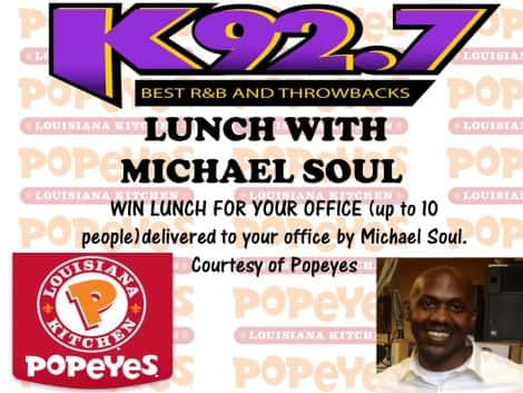 Win Lunch w/ Michael Soul