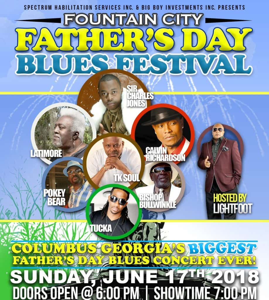 WIN FATHERS DAY BLUES FEST -ROW K -TICKETS