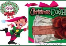 Christmas Cash WUHU Flipper Ad