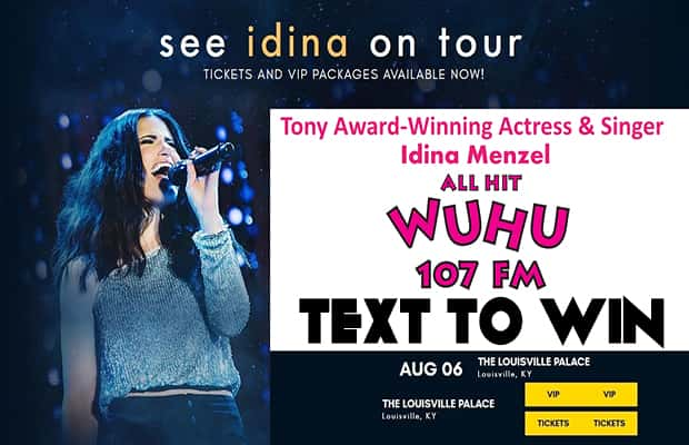 Idina Menzel - Text To Win Contest