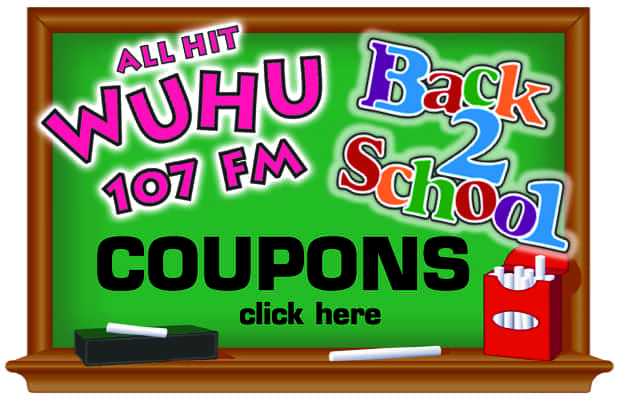WUHU'S BACK TO SCHOOL COUPONS
