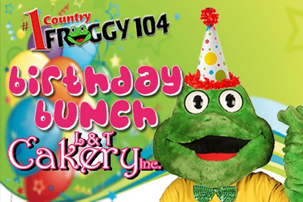 Mr. Froggy's Birthday Bunch