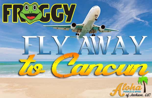 Froggy Flyaway to Cancun