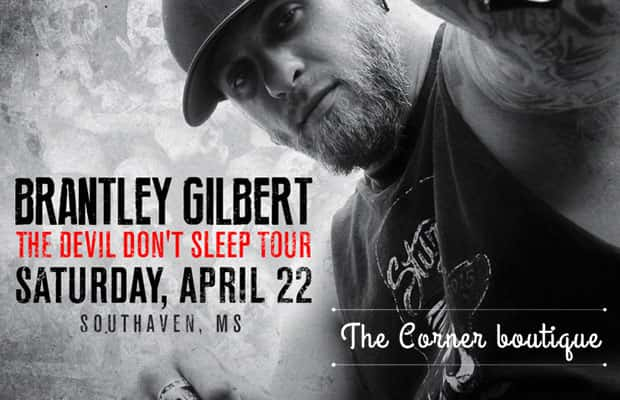 TEXT TO WIN: Brantley Gilbert Tickets