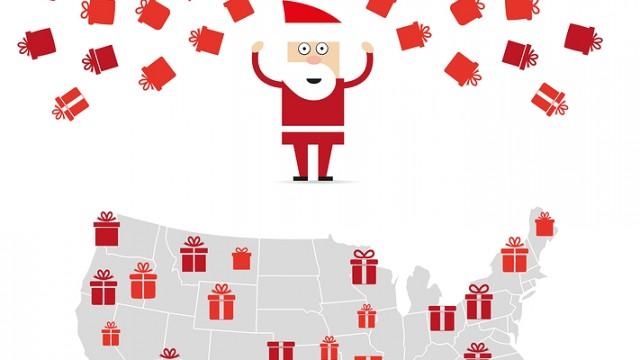 Follow Santa with Elves in Jetpacks!