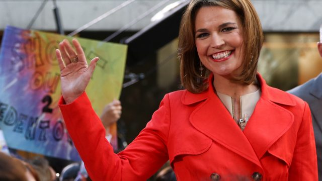 TODAY's Savannah Guthrie Confuses Matt Lauer With Her Husband