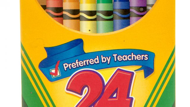 Crayola Retires Color From 24-Crayon Box for 1st Time in 100 Years