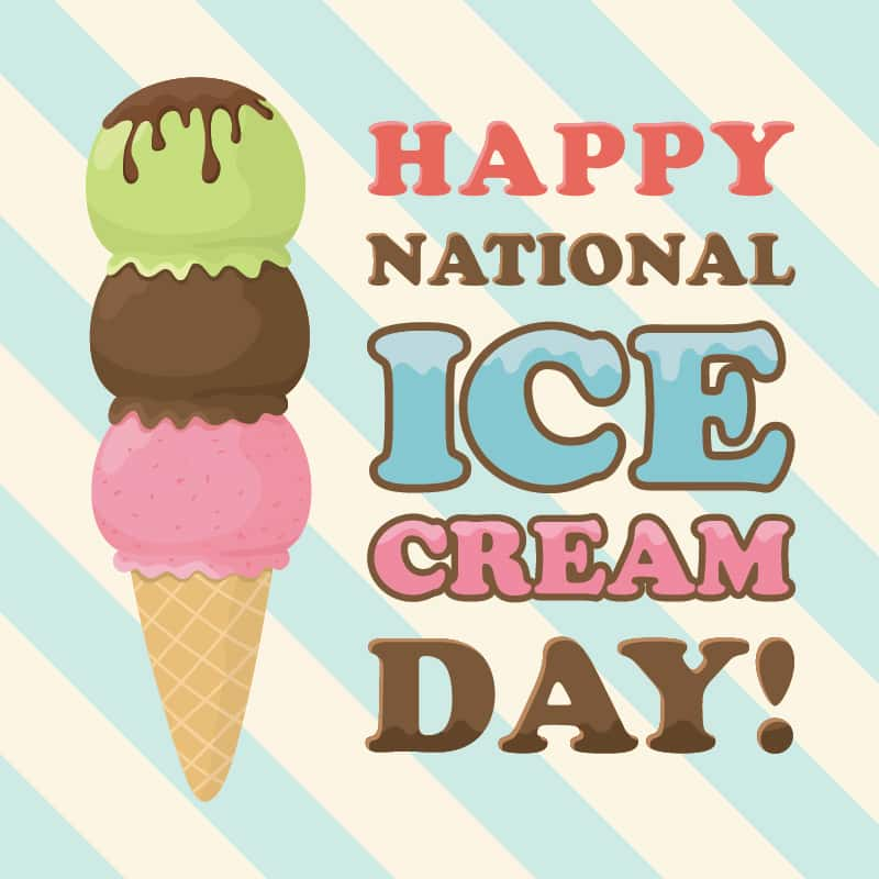 Today Is National Ice Cream Day? Really? | 95.1 WAYV