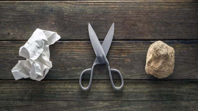 The Best Opening Throw in Rock-Paper-Scissors Is . . . Paper