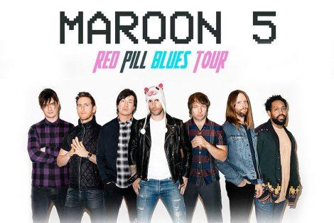 Maroon 5 at Hard Rock AC July 15th
