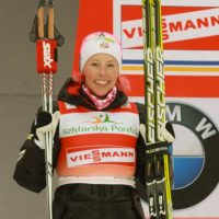 Cross-Country Skier Kikkan Randall Wins Her First Gold Medal In Her Fifth And Final Olympics