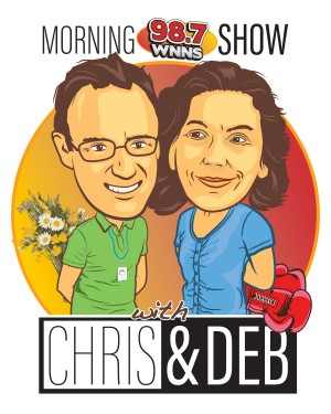 WNNS_Morning_Show_With_Chris_And_Deb