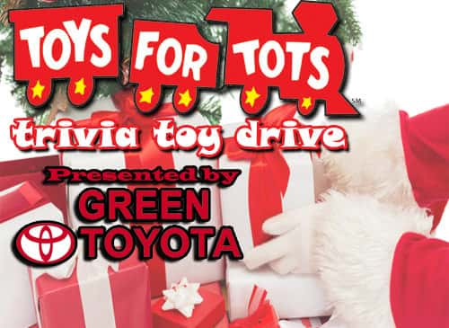 Toys for Tots Trivia benefit