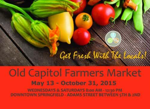 Old Capitol Farmer's Market - Downtown SPI