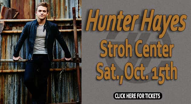 Hunter Hayes at The Stroh