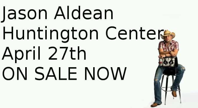 Jason Aldean Huntington April 27