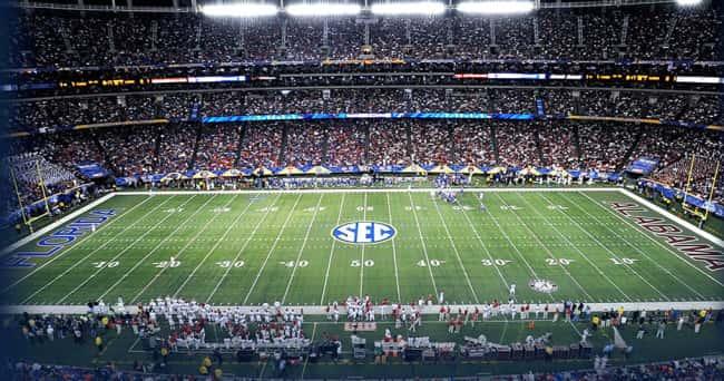 SEC Logo - Football Field