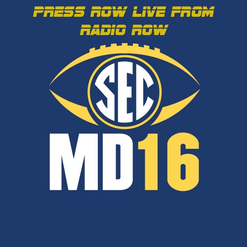 2016 SEC Media Days - Media Flipper