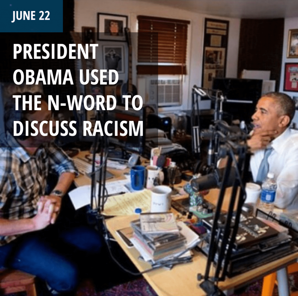 President Obama Used The N-Word To Discuss Racism