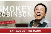 Smokey Robinson @ The Mann August 25th