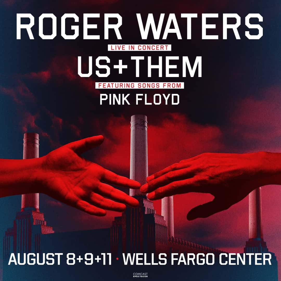 Image result for roger waters us and them tour Wells Fargo Center in Phila.
