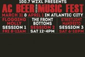 Win FREE TICKETS to 100.7 ZXL presents Atlantic City Beer & Music Festival