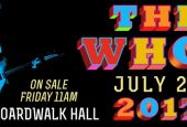 The Who At Boardwalk Hall 7/22