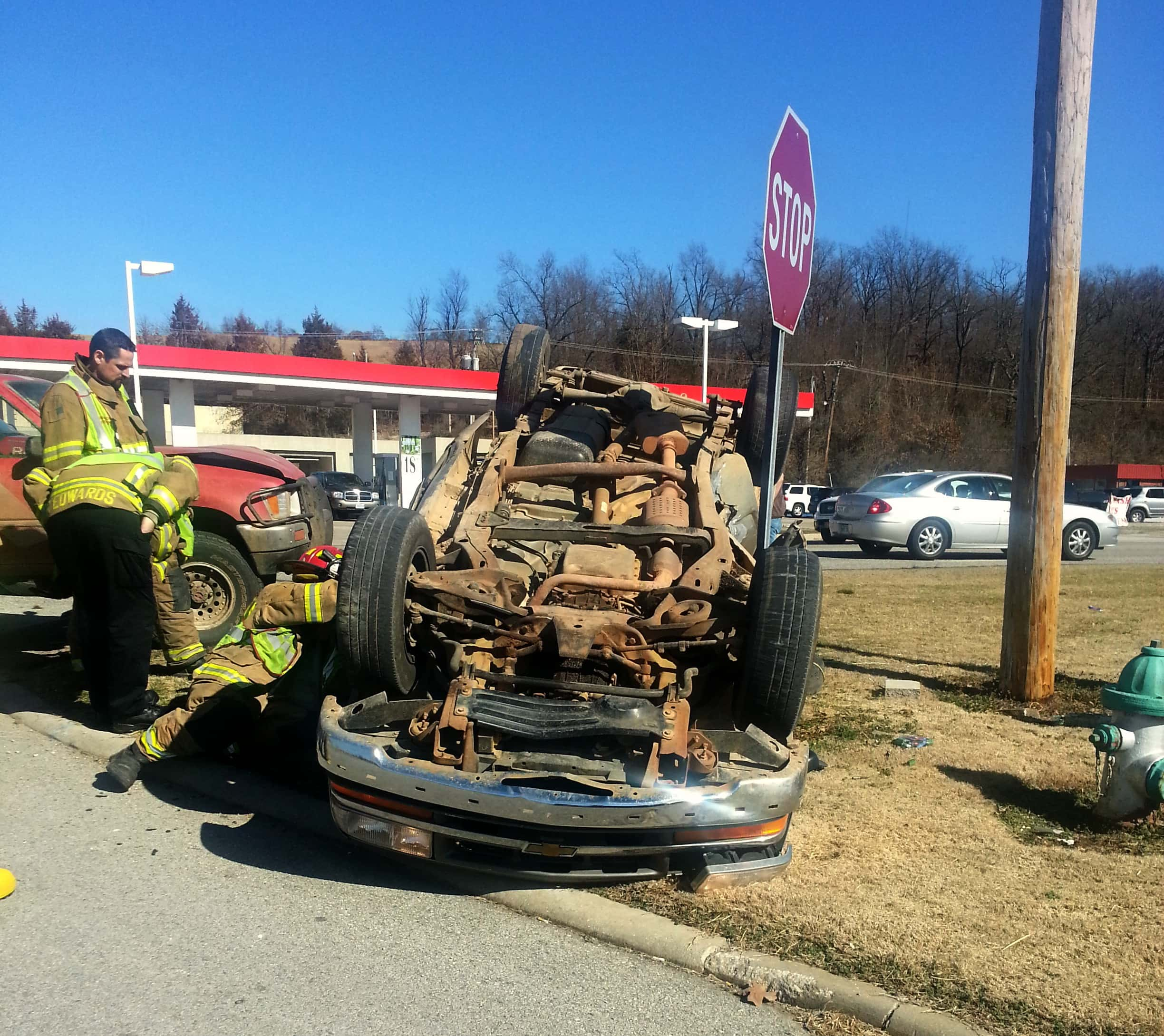 No Injuries in Rollover Crash in Harrison HomeTownDailyNews.com #0F72BC