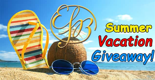 EFB's Summer Vacation Giveaway